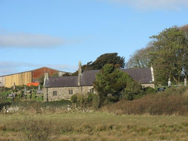 Eglwys Llangwyllog Church