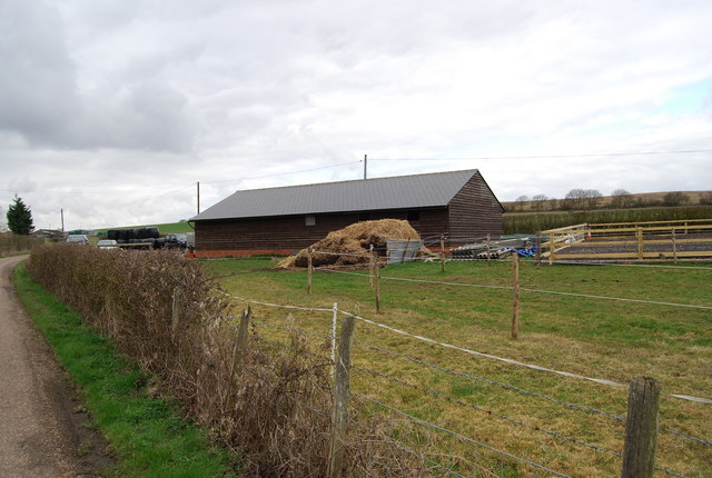 Wooden Barn off Denstroude Lane