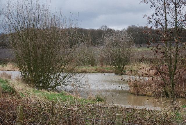 Lake near Parsonage Farm