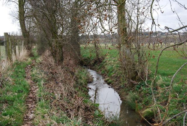 Stream near Parsonage Farm