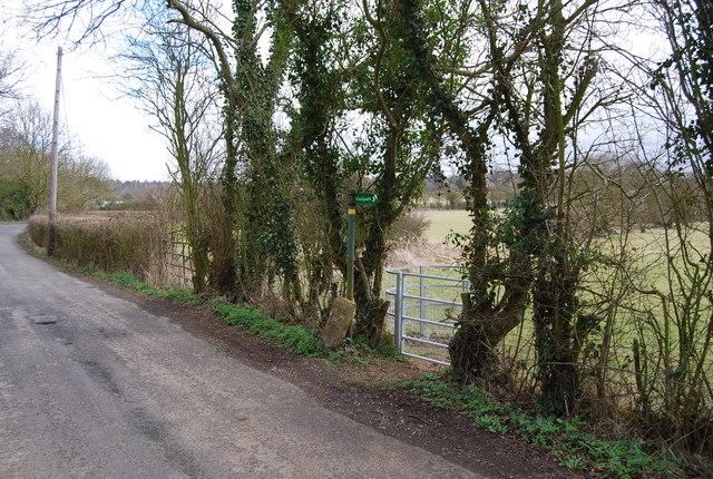 Footpath off denstroude Lane
