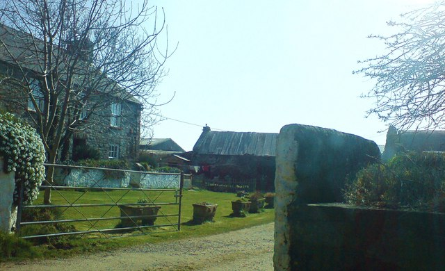 Kingheriot farmhouse and outbuildings