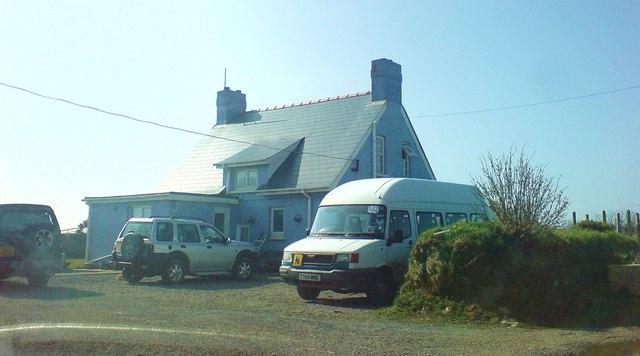Bwlchmawr farmhouse