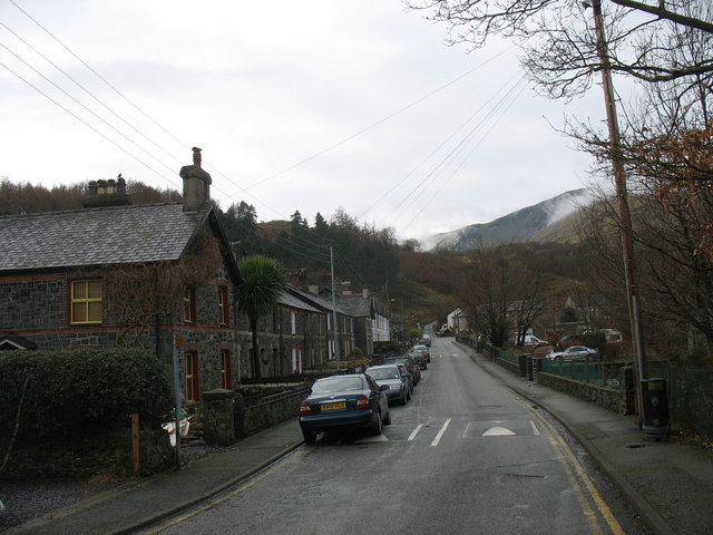 Victoria Terrace -  The Road to Snowdon