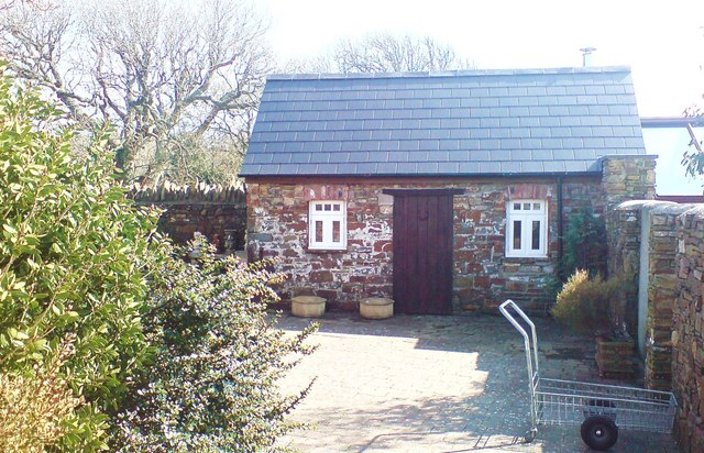 Outbuilding at Hilton Court