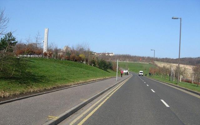 'The back road' at Edinburgh Royal Infirmary