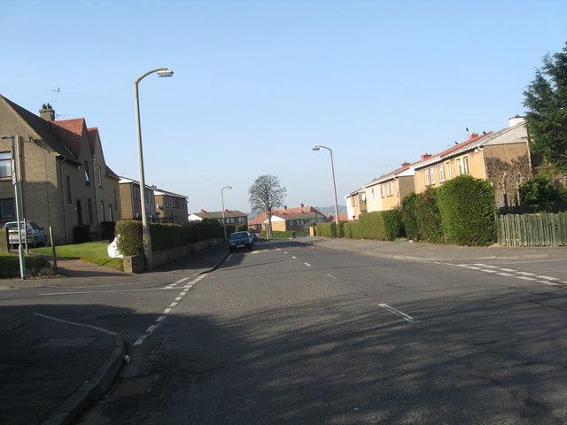 Moredun Park Road in Edinburgh