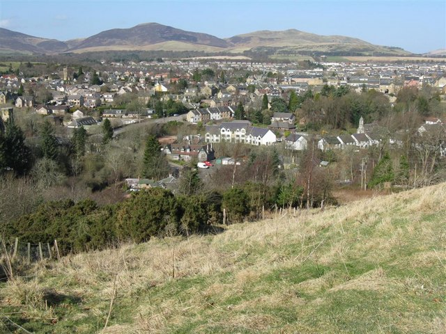 Penicuik, from Uttershill Castle