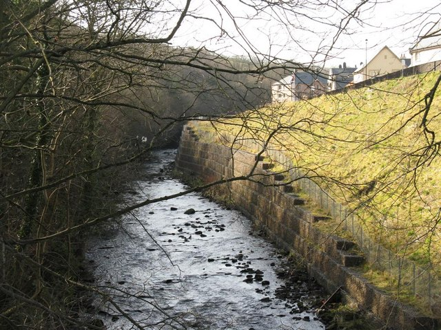 The River North Esk at the foot of Harper's Brae