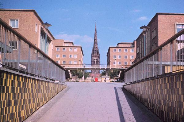 The Precinct, Coventry in 1961