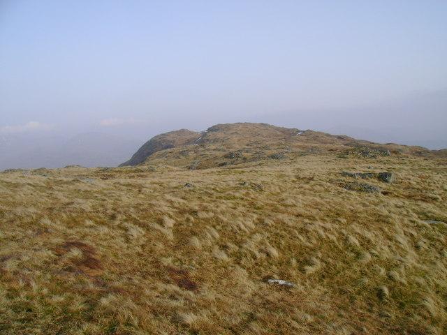 Troisgeach from Meall nan Caora