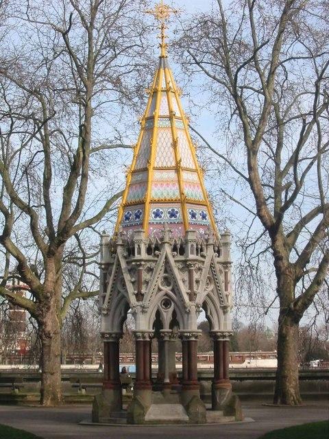 Buxton Memorial (Fountain), Victoria Tower Gardens