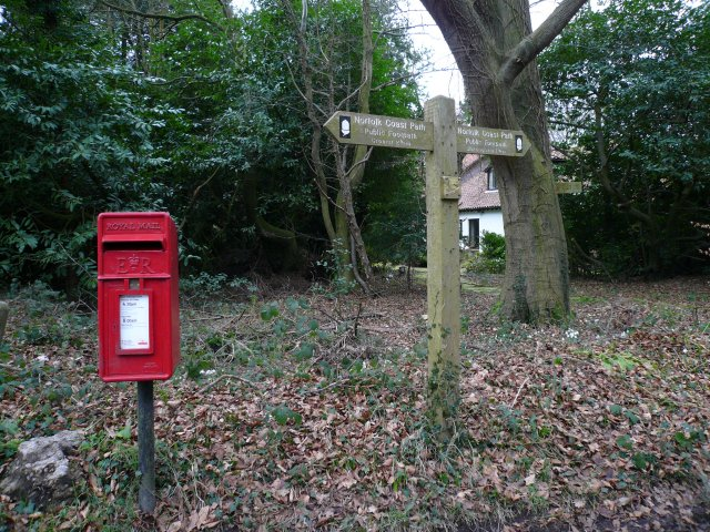 Post Box & Signpost