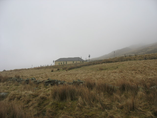 Hebron Station from near Adwyrwaen