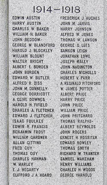 Hadley War Memorial