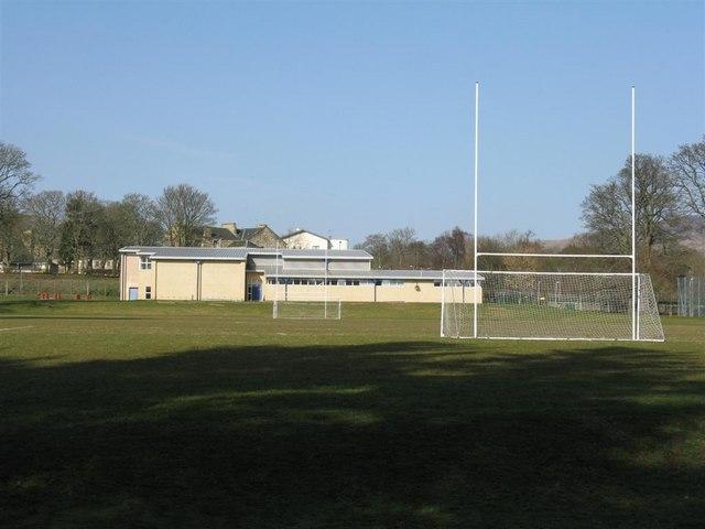 Army sports field at Glencorse