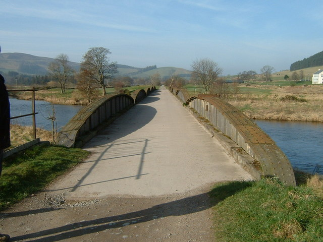 Footpath to Peebles