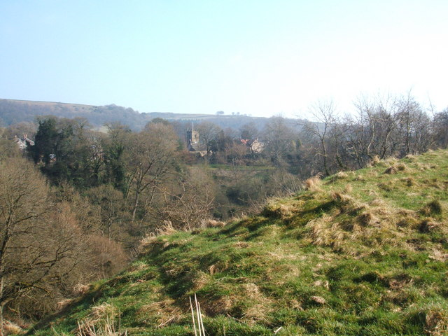 Eyam from The Delf