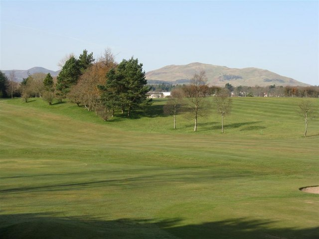 Golf course at Auchendinny
