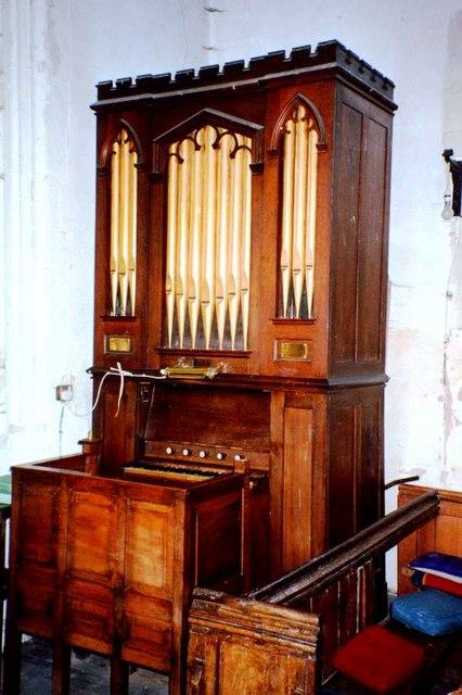 Organ at Hauxton