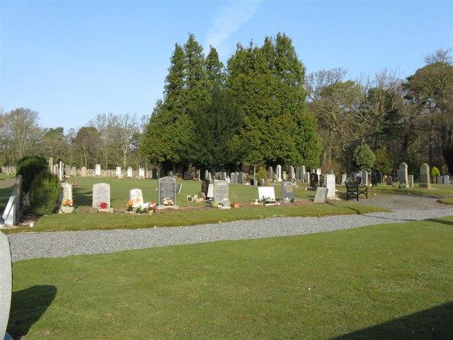 Cemetery at Glencorse