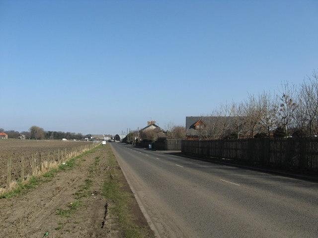 Minor road leading towards Gilmerton in Edinburgh