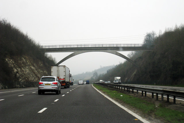 Bridge over M25