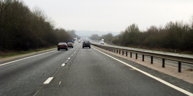 A21 towards Tonbridge
