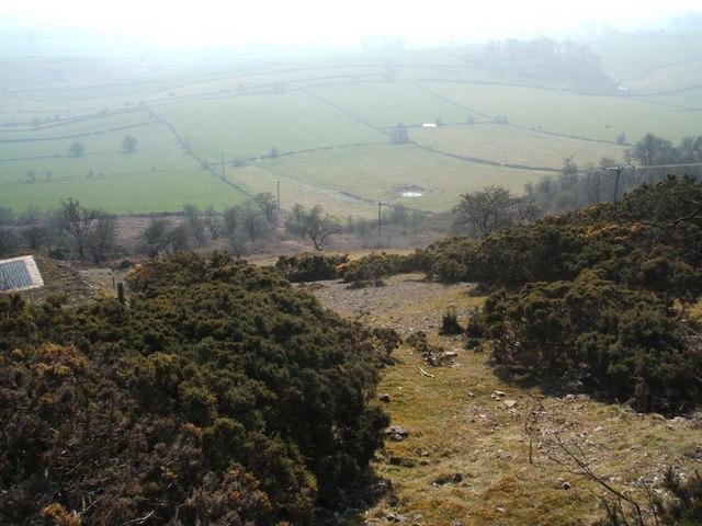 Longstone Edge view