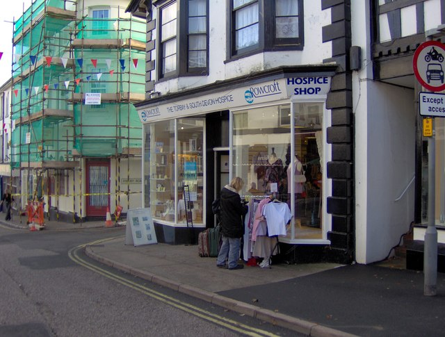 Hospice shop, Fore Street, St Marychurch