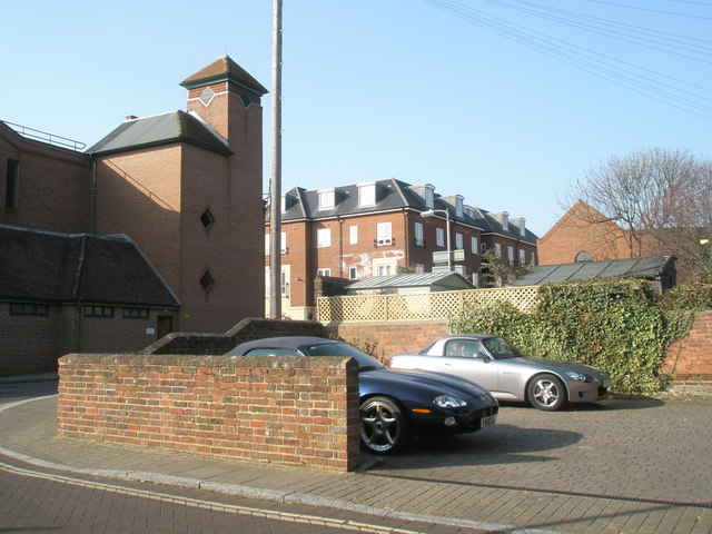 Car parks large and small in Bulbeck Street