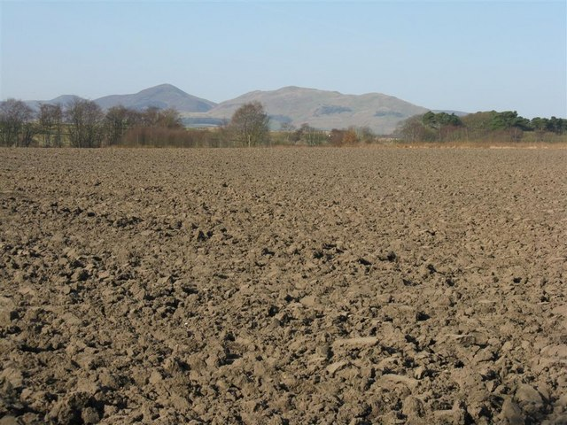 Ploughed field at Roslin