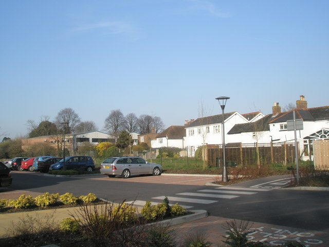 Car park behind The Bosmere Centre