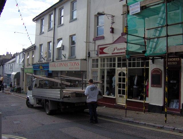 Hair dresser shop, Fore Street, St Marychurch.