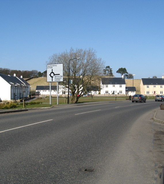 The village of Howgate