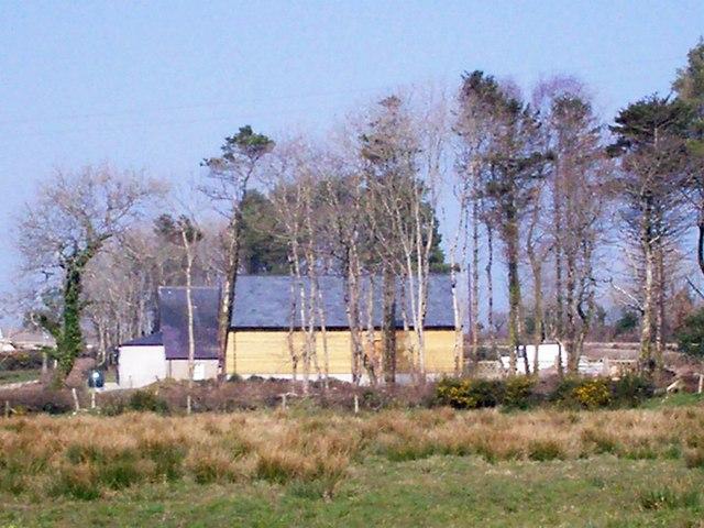 Rear of New Garages, Zoar Chapel of Rest, Llanteg