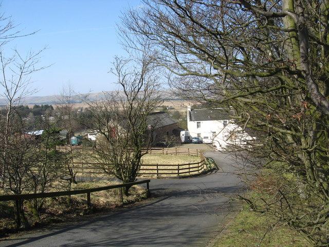 Farm Steading off the A6094