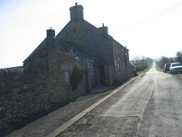 Rope Barn Farm near Blanchland