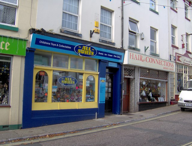 Toy and collectible shop, Fore Street, St Marychurch