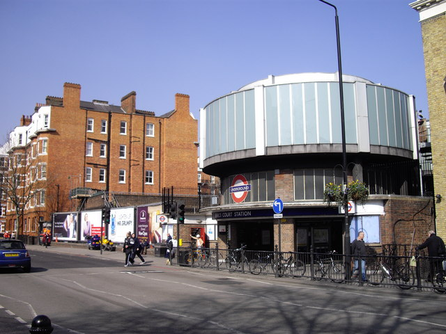 Warwick Way and Earls Court Underground Entrance