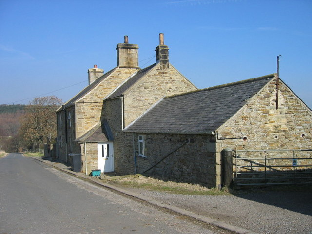 Rope Barn Farm near Blanchland