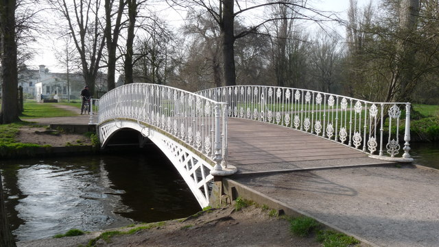 Bridge at Morden Hall