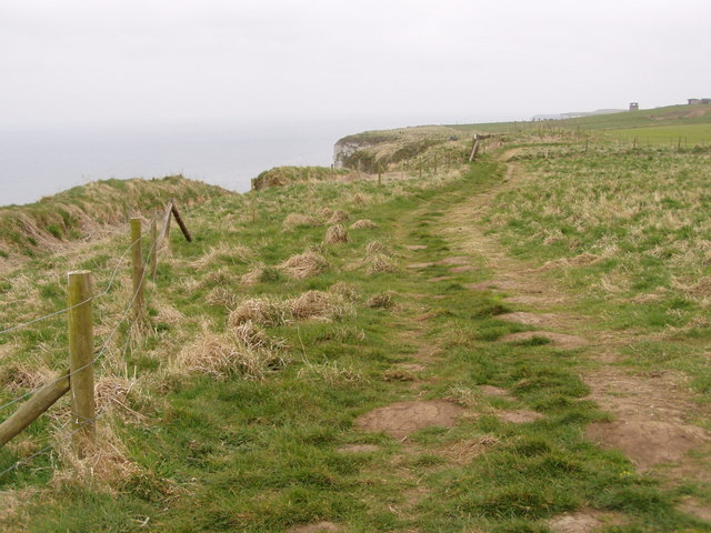 Headland Way Over Buckton Cliffs