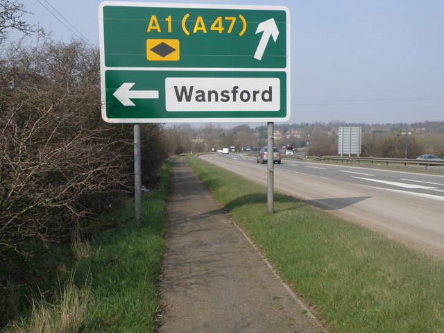 Wansford this way