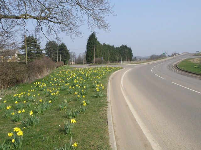 Spring time near Stibbington