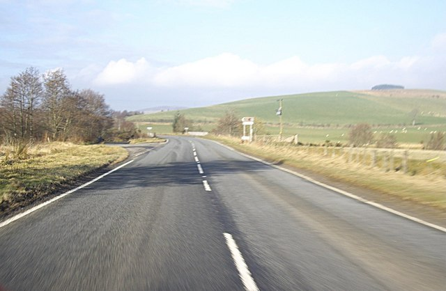 Road junction on A920