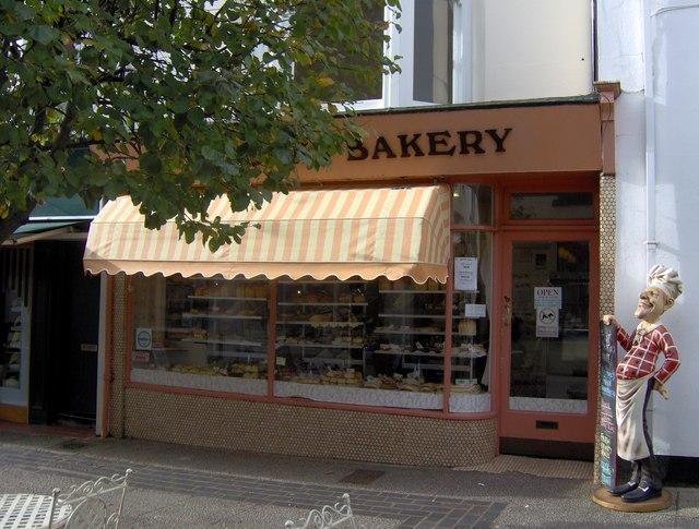 Bakery shop, St Marychurch precinct