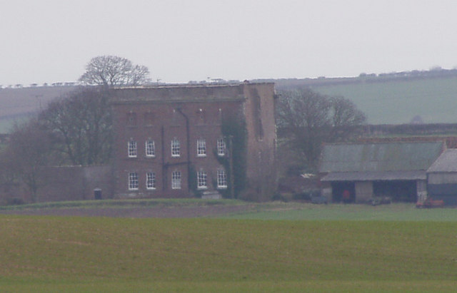 Buckton Hall Rear View