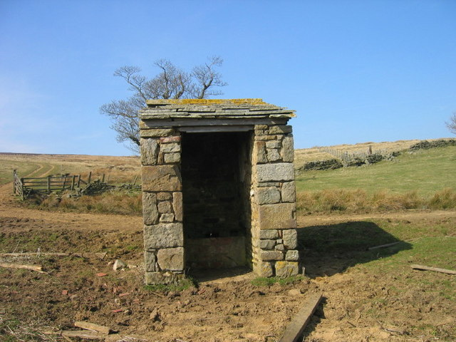 Privy at Belmount Farmhouse