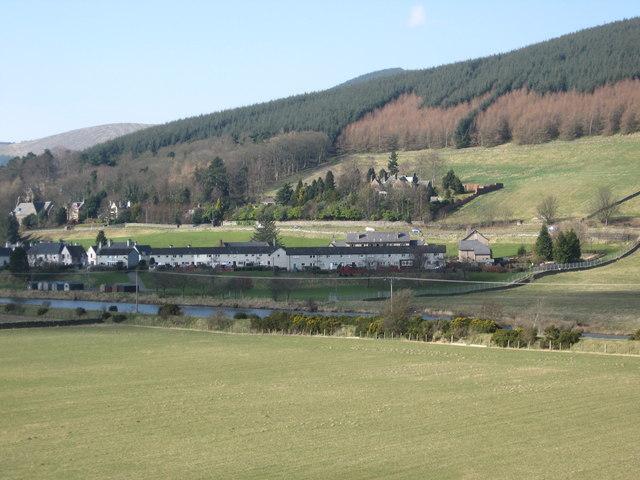 The Tweed Valley at Walkerburn